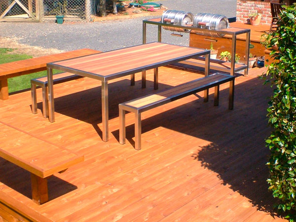 Outdoor furniture with the X Factor Dftransales Engineering Dunedin We c